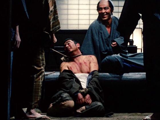 Zatoichi tortured