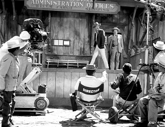 Behind the scenes of The Wild Bunch
