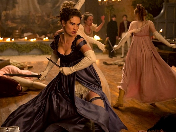 Pride and Prejudice and Zombies and Knickers