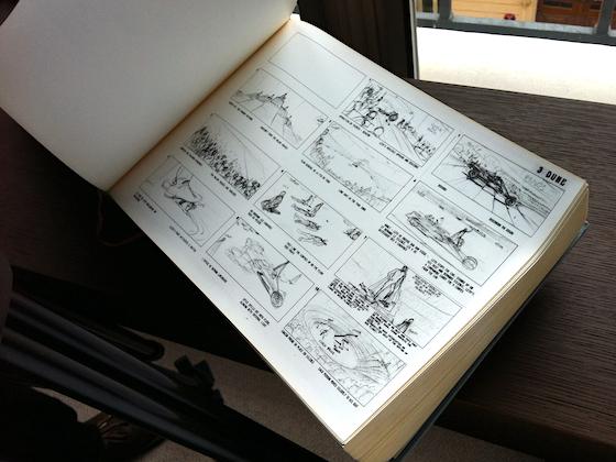 Dune storyboards